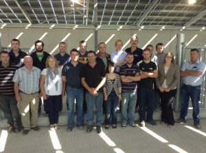 Staff of O' Donovan Engineering at the open day of Munster AI in Mallow
