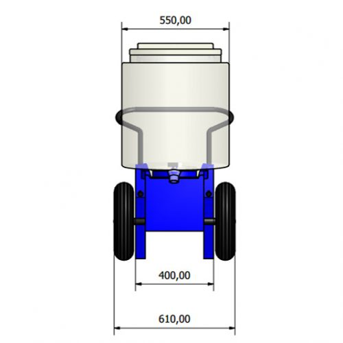 Mobile Milk Replacer Mixer