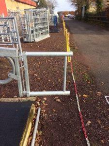 Cubicle Dividing Gate