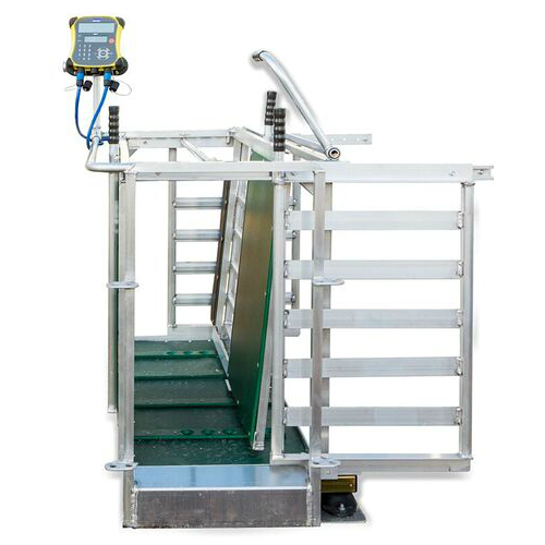 Manual weigh crate 16