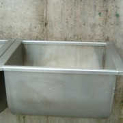 Wash trough in parlour