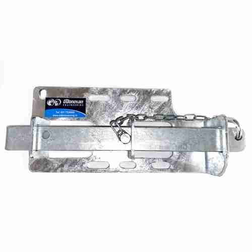 Inter-locking gate latch