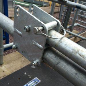 Cubicle Lock Out Bracket