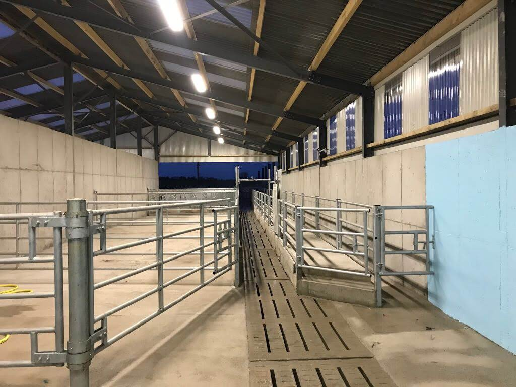 Parlour Exit Race & Handling Facilities