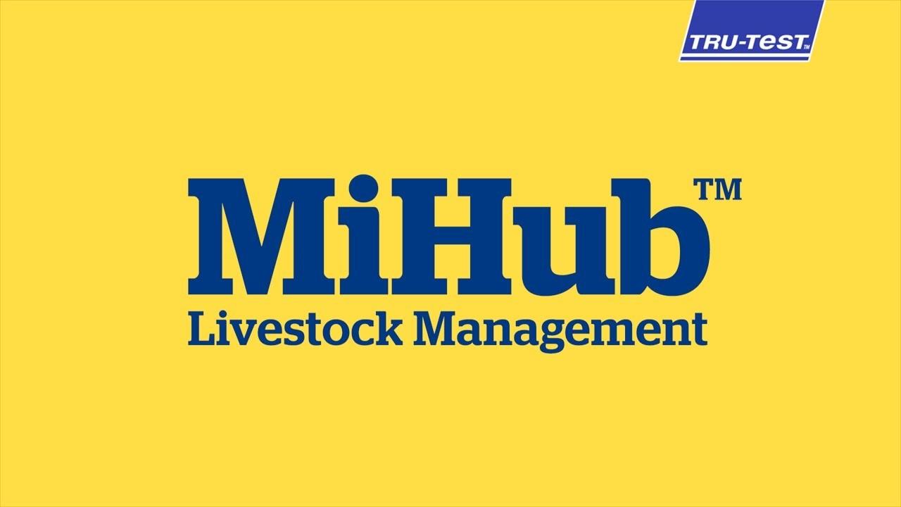 Tru-Test MiHub App