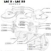 Lac 5 - 55 parts