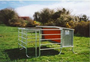 Mobile Calf Creep Feeder