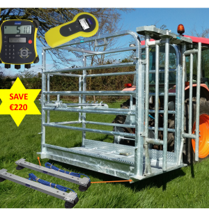 Portable Cattle Crush, Weighing & EID Package