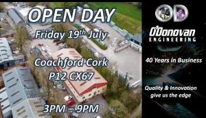 O'Donovan Engineering OPEN DAY
