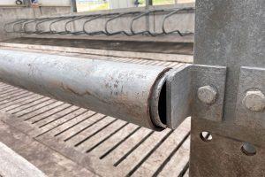 Cattle Straight Rail Barrier